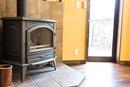 暖炉がある木の温もりを感じられる家